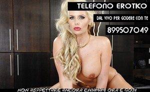 Donne Sposate al Telefono Erotico 899319905